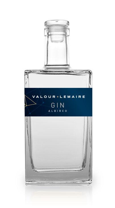 Bouteille Gin Albiréo Valour+Lemaire