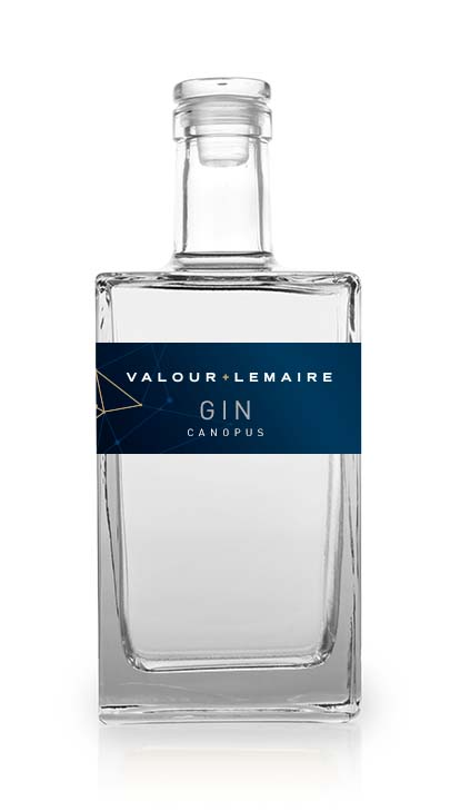 Bouteille Gin Canopus Valour+Lemaire
